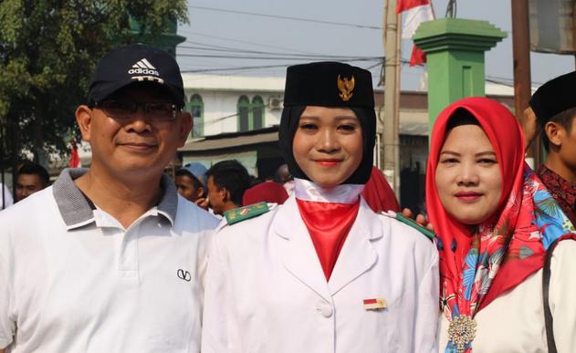 paskibra kecamatan parungpanjang - dyah varlin